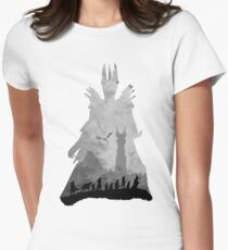 Sauron & The Fellowship Womens Fitted T-Shirt