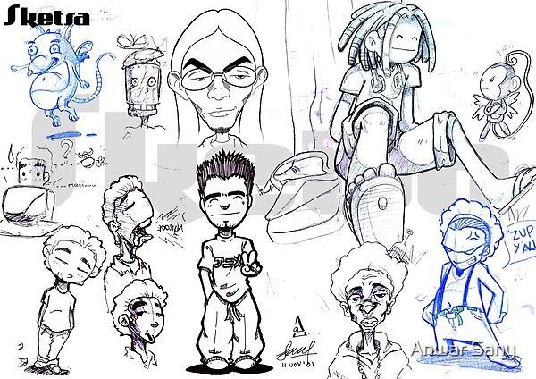 Various Art by Anwar Sany