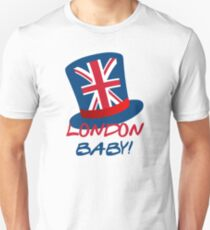 Joey's London Hat (Friends) – London, Baby! Unisex T-Shirt