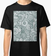 Abstract Floral Classic T-Shirt