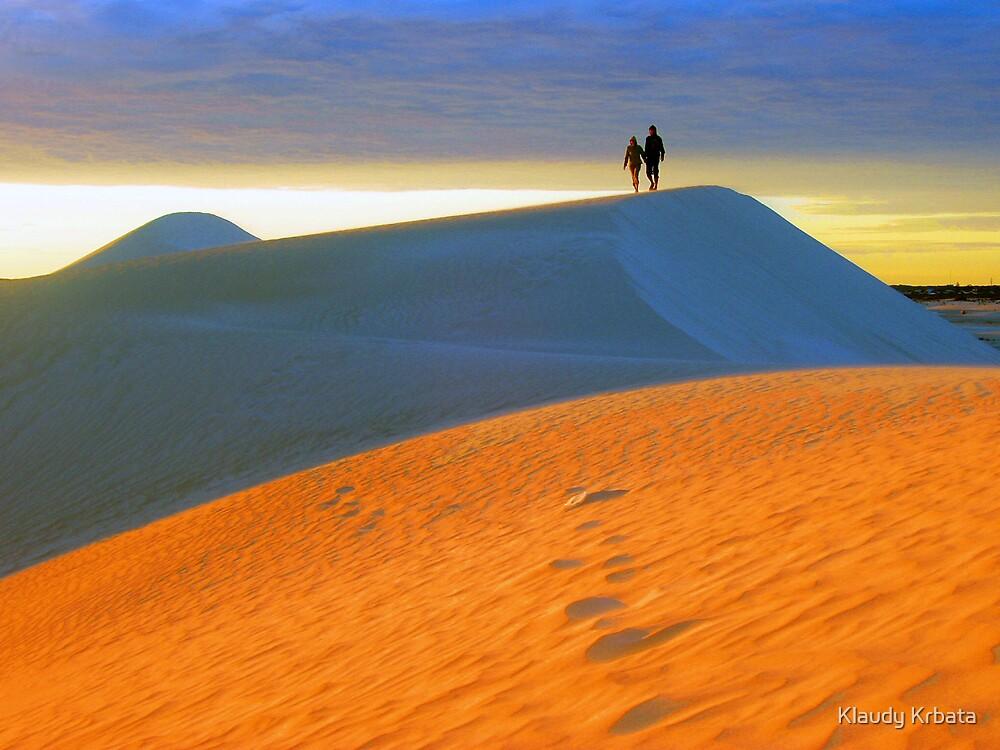 desert by Klaudy Krbata