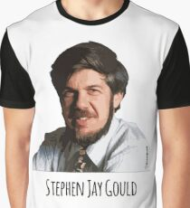 Stephen Jay Gould  Graphic T-Shirt