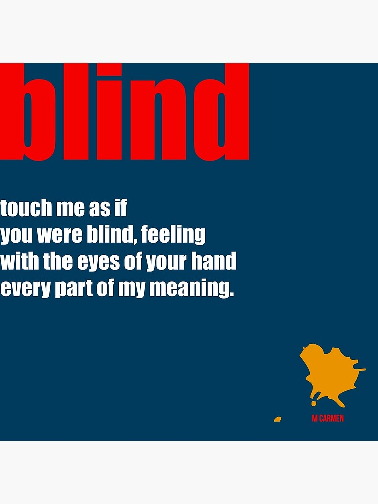 blind by MCANTO