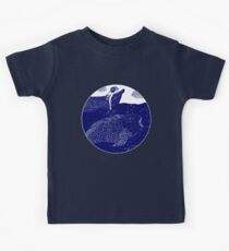 The Blue Shimmering Sea Lights Kids Tee