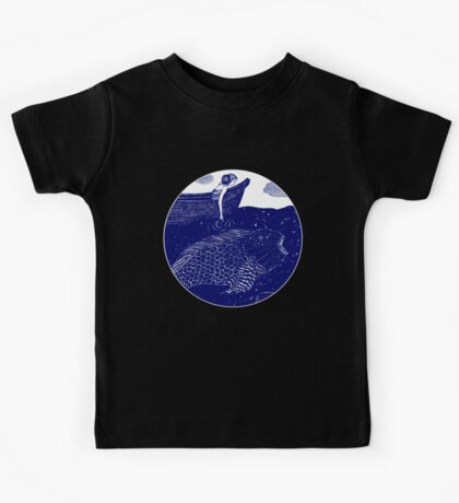 The Blue Shimmering Sea Lights Kids Clothes