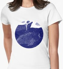 The Blue Shimmering Sea Lights T-Shirt