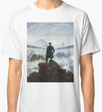 Caspar David Friedrich - The Wanderer Above The Sea Of Fog Classic T-Shirt