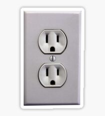Electric Plug: Stickers | Redbubble