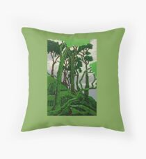 Tree dance (clouds) Throw Pillow