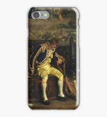 Charles Bargue - A Footman Sleeping iPhone Case/Skin