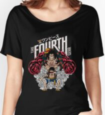 One Piece Monkey D Luffy Gear Fourth  Women's Relaxed Fit T-Shirt