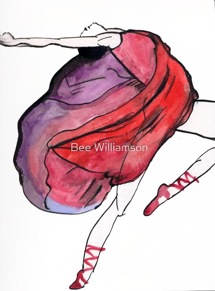 Dancer in Exaultation (original) by Bee Williamson