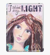I shine my light iPad-Hülle & Skin