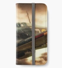 Hurricane Fighter iPhone Wallet/Case/Skin