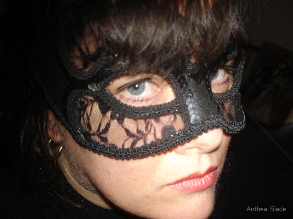 Masked Woman II by Anthea  Slade