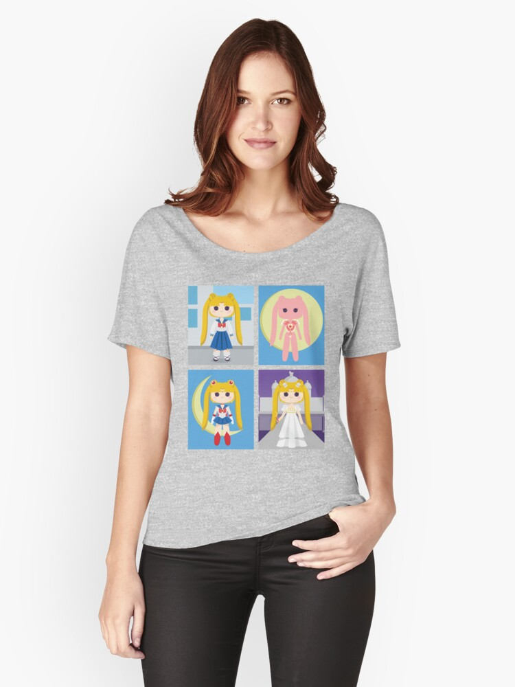 Sailor Moon Women's Relaxed Fit T-Shirt Front