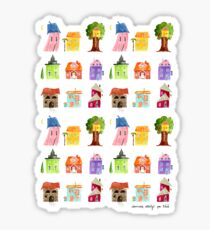 Fairy Tale Homes Sticker
