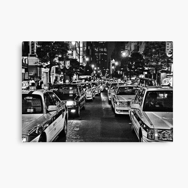 Tokyo Taxis Canvas Print