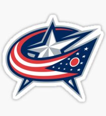 columbus blue jackets Sticker