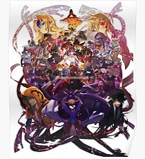 Blazblue All Characters Poster