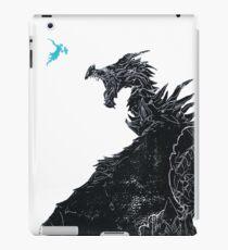 Skyrim Inspired Dragon Print iPad Case/Skin
