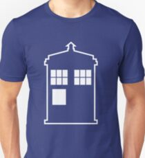 Doctor Who Tardis - Minimalist T-Shirt