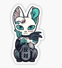 Wrong Neko: Opposition Sticker