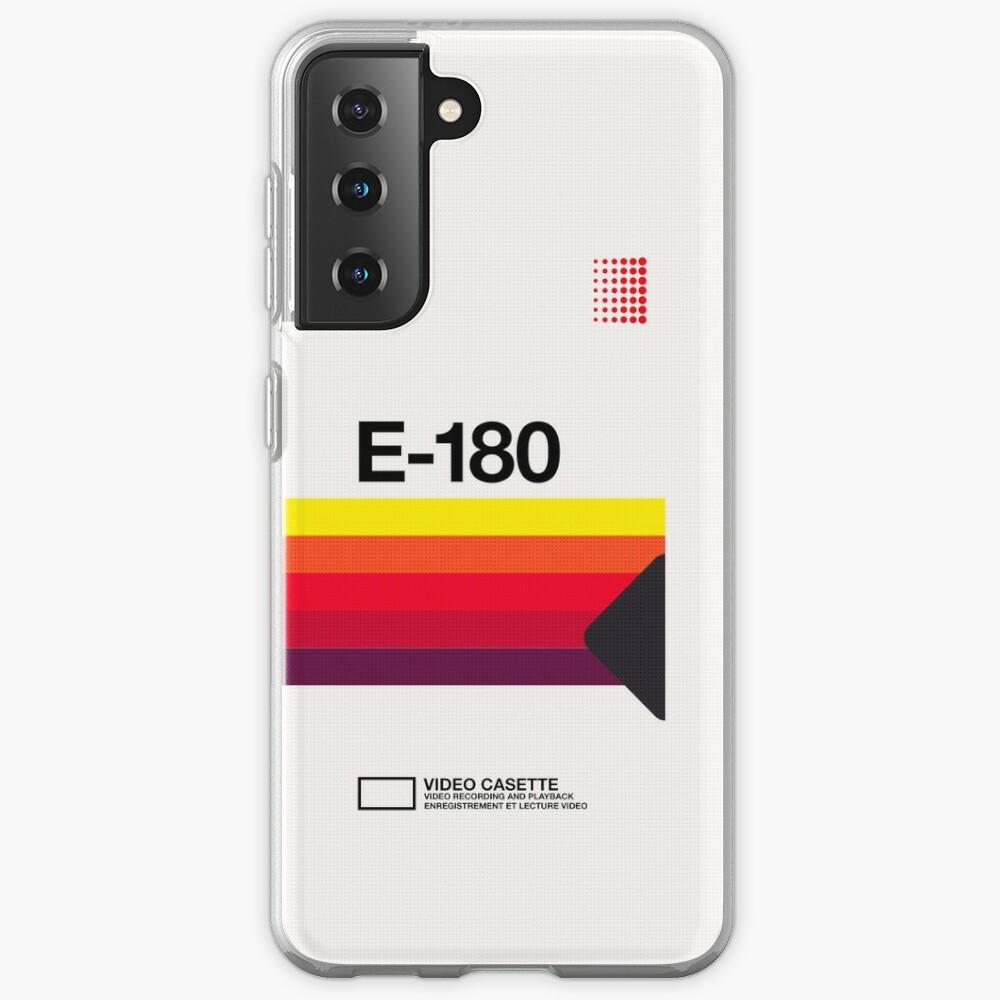 VHS E-180 Case & Skin for Samsung Galaxy