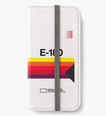 VHS E-180 iPhone Wallet/Case/Skin