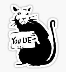 Banksy - Rat Sticker