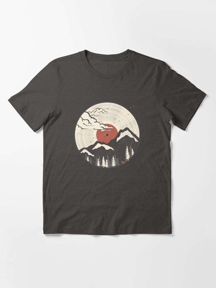 Alternate view of MTN LP... Essential T-Shirt