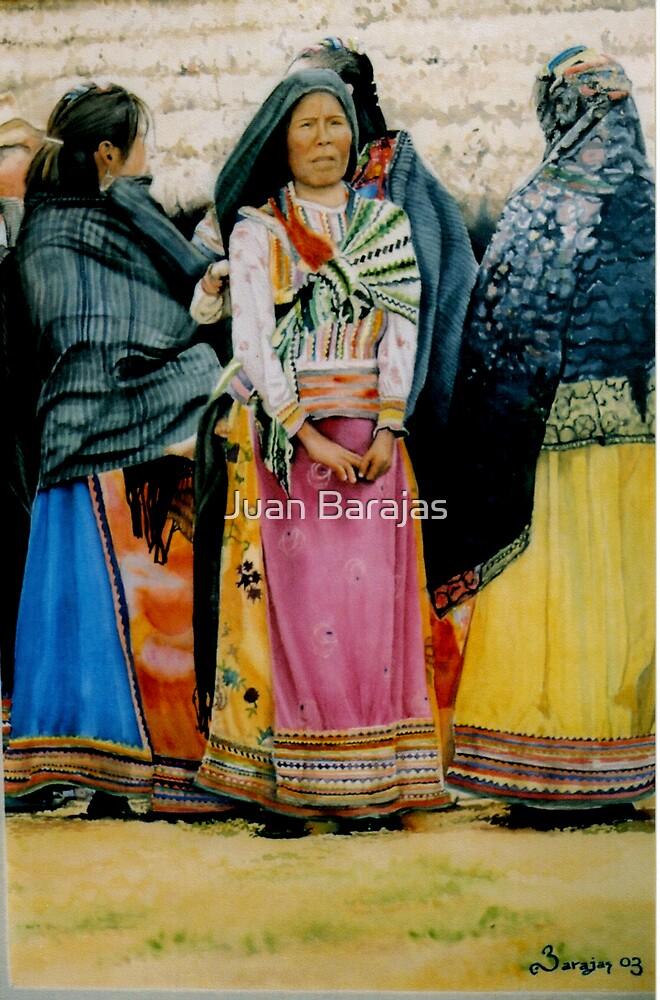 Mujeres Coras by Juan Barajas