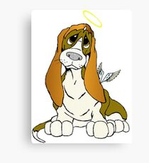 Angel Puppy Canvas Print