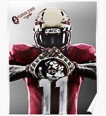 Florida State Seminoles Football Poster