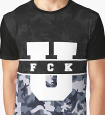 FCK U - Dark Winter Graphic T-Shirt