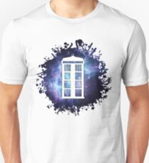 universe TARDIS splat  Unisex T-Shirt