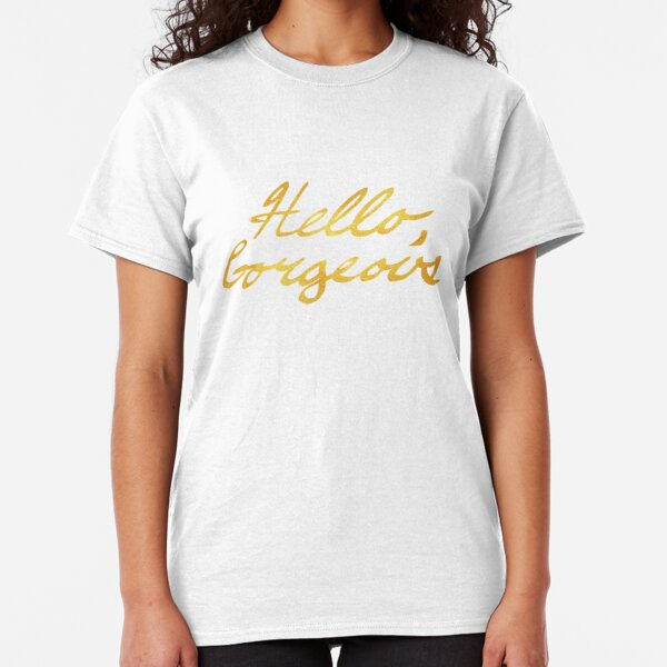 Camisetas para mujer: Letra Cursiva Cepillo | Redbubble