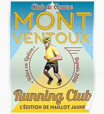 Chris Froome Mont Ventoux Running Club Poster