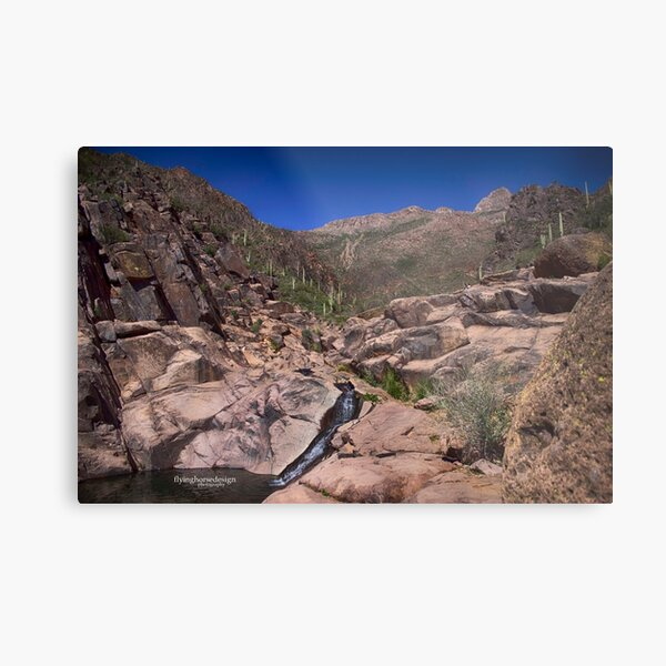 Hieroglyphic Trail - Apache Junction, CA  Metal Print