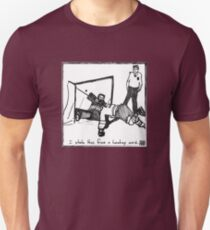 I stole this from a hockey card Unisex T-Shirt