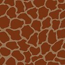 Liver Chestnut in Giraffe Pattern  by DayColors
