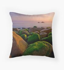 Porth Nanven II Throw Pillow