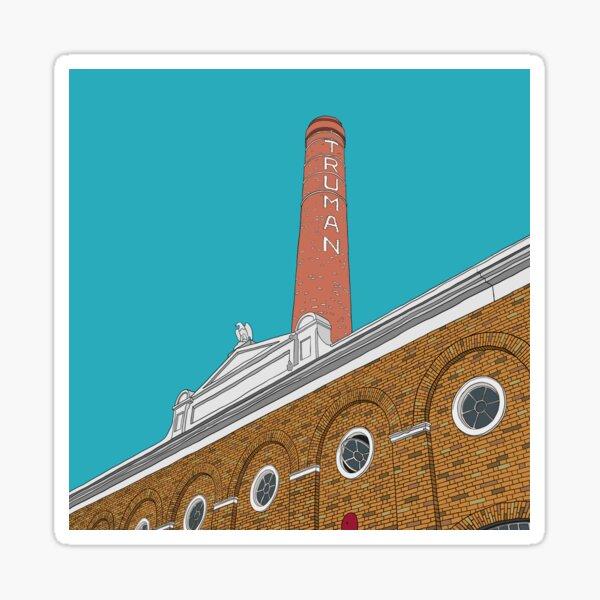London Brick Lane Truman Chimney Sticker