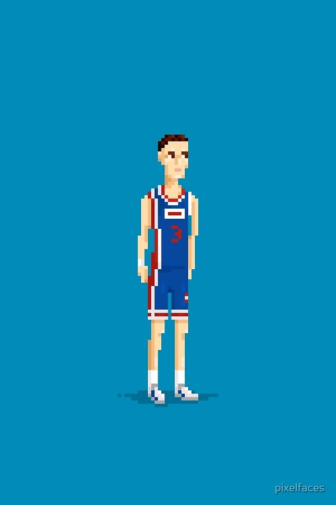 Mozart of basketball by pixelfaces