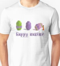 Easter Egg and Minifigure T-shirt Easter Themed LEGO Tee Unisex T-Shirt