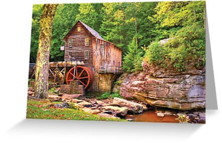 Glade Creek Mill  by Gregory Ballos