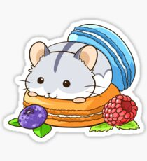 Macaron Dwarf Hamster Sticker