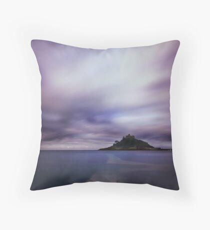 Seamount (dark) Throw Pillow