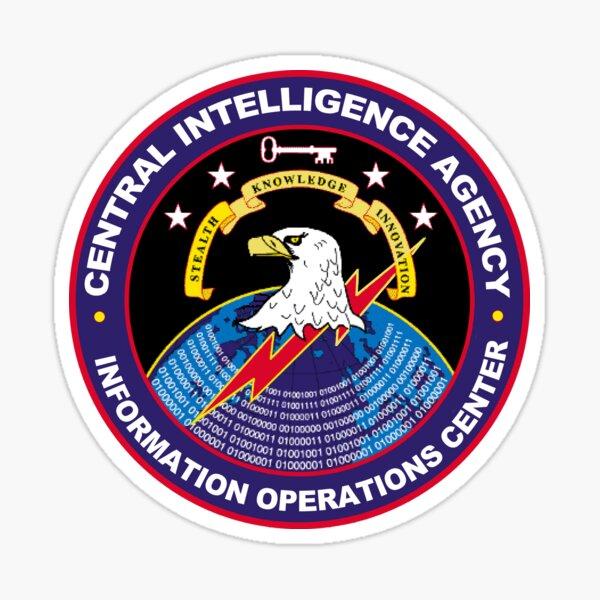 CIA Information Operations Center Logo Sticker