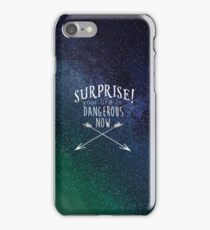 Nancy Drew Shattered Medallion Quote iPhone Case/Skin